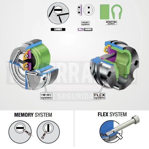 DISEC KRIPTON 2019 memory system flex system